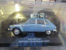 RENAULT 16 R16 Rallye Service Assistance Renault 1969 Altaya IXO 1:43