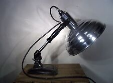 Converted Atomic Pifco Heat Lamp Adjustable Industrial/Steampunk Desk/Spot Light