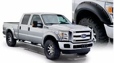 BUSHWACKER POCKET STYLE FENDER FLARES 20931-02, FITS FORD SUPERDUTY 2011-2016