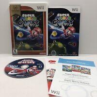 Super Mario Galaxy [Nintendo Selects] - CIB w/ Manual - Nintendo Wii (2007)