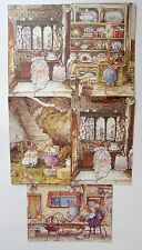 Rare Brambly Hedge Jill Barklem Greeting Cards 1994 Set of 5