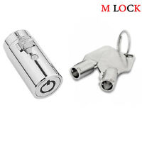 New Universal Plug Lock for Soda Snack Vending Machine Replacement Lock 2501