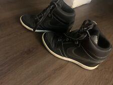 Nike Black Sky High Force Top Wedge Sneakers Dunk Sky Hi 6.5
