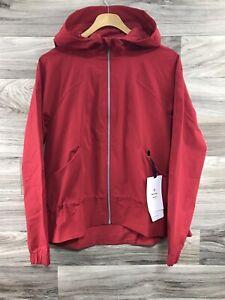 Lululemon Pack It Up Jacket *DWR Fabric Rain Size 6 Dark Red DKRD - 25870