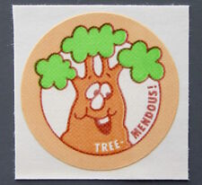 Vintage TREND Stinky Stickers WOOD matte Scratch-N-Sniff sticker (Variant)