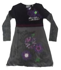 Vestido para niña de Creem girl , gris ,talla 10
