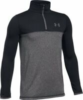 Under Armour Threadborne Seamless Boys Jacket Kids Long Sleeve Shirt UA Zip