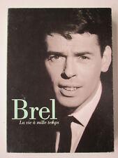 VHS K7 BREL Jacques 1995 la vie à mille temps ARTE FRANCE