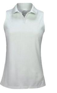 Nike Golf Women's Dry Victory Sleeveless Polo Mint Green Size XS CI9809-043