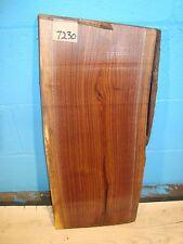 """# 7230 Black Walnut Live Edge Slab lumber craft wood 22""""L 10""""W 1 11/16""""T"""