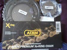 SUZUKI SV1000S  03-07  GOLD XSR X-RING Chain & Sprockets AFAM