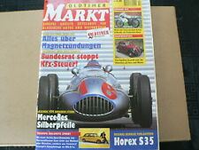 MARKT 1997 NO 2 KAWASAKI H1 R MOTO,FIAT TOPOLINO,HOREX S35,SILBERPHEILE MB,TRIUM