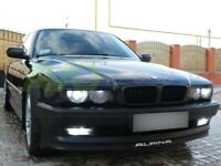 BMW 7 e38 eyebrows headlight brows tuning trims ABS PLASTIC
