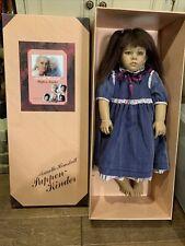 1988 Annette Himstedt 1139 World Child 31� Puppen Kinder Girl Doll Arm Tag