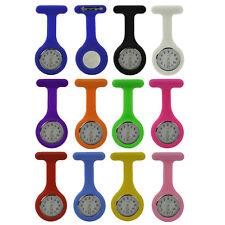 Silikon-Uhr für Krankenschwestern   Sicherheits-Nadel   (fluoreszierende Zeiger)