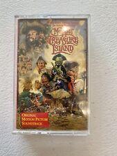 muppet treasure island soundtrack cassette tape with case used rare