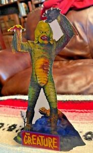 Creature from the Black Lagoon Aurora Model Kit Repro Cut Out Tabletop Standee