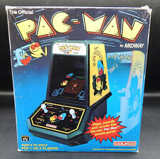 1981 vintage Coleco PAC-MAN tabletop electronic game PACMAN w/ original box !!!