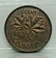 KM# 49 - 1 cent 1953 - TTB - monnaie Canada - N8802