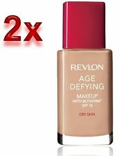 2x Revlon Age Defying Makeup Foundation With Botafirm SPF15**Choose your Shade**