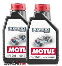 Aceite Motor hibridos gasolina, Motul HYBRID 0W8 Honda Toyota, pack 2 litros