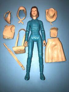 Marx Janice West Action Figure, 8 Accessories Johnny West Model # 1067B