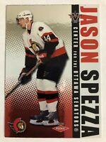 2002-03 Vanguard Rookie Card Jason Spezza /1650 #124 RC
