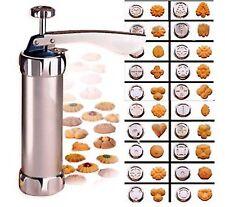Pro Aluminum Atlas Deluxe Biscuit Maker Cookie Stamp Press Bakeware Cookie Tool