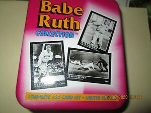1992 Megacards THE BABE RUTH COLLECTION COMPLETE ORIGINAL TIN
