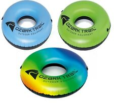 Ozark Trail River Tube Water Pool Float - Choose Your Color - Rainbow Green Blue