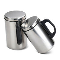 Stainless Steel Travel Hot Cup Bottle Vacuum Insulated Thermal Coffee Tea Mug