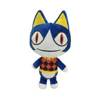 Animal Crossing Rover Cat S Plush 21CM Stuffed Toy Anime Doll Birthday Gift