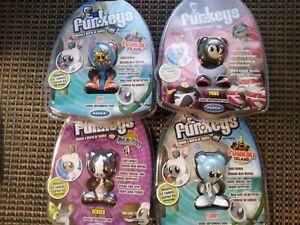 Funkeys Radica Games - Sol, Yang, Berger & Flurry Lot Of 4 Brand NEW