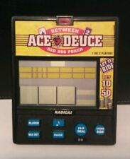 Radica Between Ace Deuce Red Dog Poker Electronic Handheld Game Model 960
