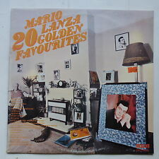 MARIO LANZA 20 golden favourites RCA LP 3027