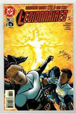 LEGIONNAIRES #76 SIGNED BY WRITER ROGER STERN - RETURN OF WILDFIRE - DC/1999