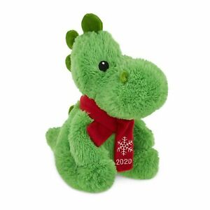 Petsmart 2020 Plush Fortune The Dinosaur Dog Chew Toy Squeaky Stuffed Animal New