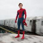 Children New Spiderman Homecoming Cosplay Jumpsuit Superhero Halloween Costume