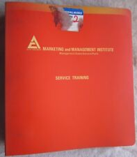 1977-1978 ALLIS CHALMERS 8550 TRACTOR SERVICE TRAINING MANUAL
