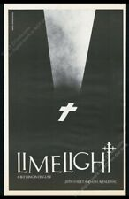 1983 Limelight nightclub night club New York City BIG vintage print ad