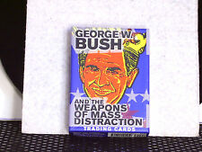 President George W Bush And The Weapons of Mass Distraction 36 MIB Trading Cards