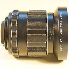 Super-Takumar 2/35 Reportageobjektiv M42 ASAHI PENTAX ordentlicher Zustand