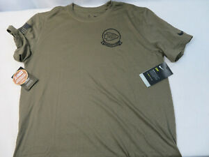 Nike 2019 Mens Kansas City Chiefs Salute to Service Olive SS T-Shirt Size Large