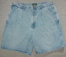 Ralph Lauren Polo Country Pleated Vintage Denim Shorts 38 Men's O15