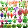 Aquarium Deko Koralle Wasser Gras Blumen Pflanzen Ornament Plant Dekoration