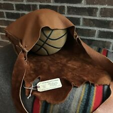 NEW REEDERANG ORIGINAL THICK MOOSE SKIN LEATHER MACBOOK PRO MESSENGER BAG $1695