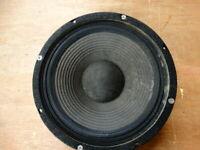 """Vintage Ross / Kustom 10"""" 4 Ohm Full Range Speaker 12557 / 67.8406"""