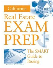 California Real Estate Exam Prep  Preparation Guide w  CD   Real Esta