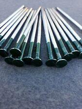 Half Green Artificial Grass U Pins Galvanised Pegs Staples Membrane x 50 NAILS
