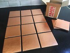 Copper Tiles - Artisan - box of 9 +1 FREE 10x10cm